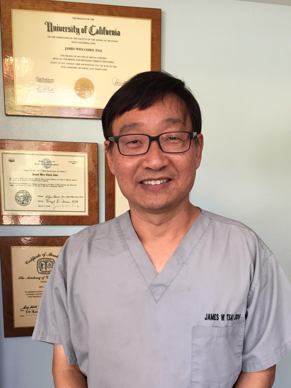 Dr. James W. Tsai, DDS, Best Dentist in Pasadena, CA 91107